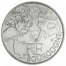Pièce de 10 euros en argent de la région Bourgogne - Euro des régions 2012