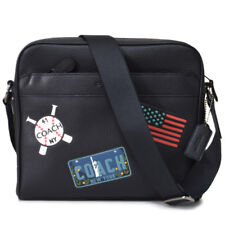 NWT Coach Charles Camera Bag with American Dreaming Patches 26079 QB/Black