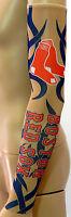 Youth Boston Red Sox Tribal Tattoo Arm Sleeve Sun Block Nylon Baseball MLB