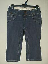 Zana Di Jeans junior's size 1 denim capri's