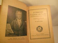 Antik Buch Gespräche mit Johann Wolgang von Goethe 1907 Jugendstil