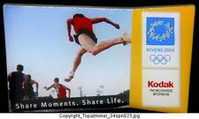 OLYMPIC PIN ATHENS 2004 KODAK SPONSOR SPORT RUNNING