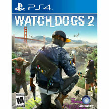 Watch Dogs 2 Used Sealed (Sony PlayStation 4, 2016) Ps4