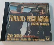 Friendly Persuasion Original Soundtrack Dimitri Tiomkin 1993 Movie Sound Records