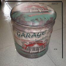 Contenitore portatutto mini pouf