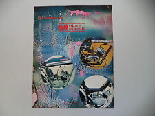 advertising Pubblicità 1972 MOTORI MINARELLI e MOTO BIMM/FANTIC TI/MZV CAMBRIDGE