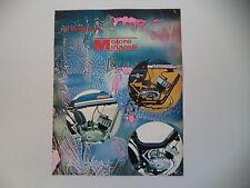 advertising Pubblicità 1972 MOTORI MINARELLI e MOTO BIMM/FANTIC TI/MZV CAMBRIDGE