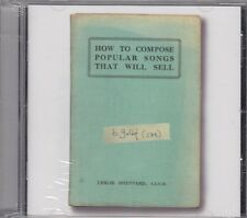BOB GELDOF - how to compose popular songs that will sell CD new sealed