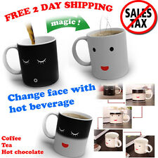 Heat Changing Mug Morning Color Cup Coffee Sensitive Magic Tea Hot Reactive Cold