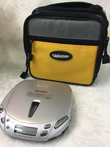 Sony Car Ready Discman ESP2 Personal CD Player D-E446CK Working With Case W55