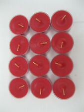New In Box PartyLite Cinnamon Bayberry Tealight Tealights Box 12 Candles V04199