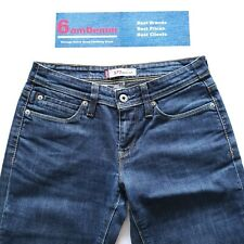 Levi Levis 572 Boot Cut Womens Blue Jeans W28 L32