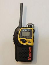 Hard to find 1 Sony U-Ceiver UHF Transceiver ICB-U655 two-way radio - FRS