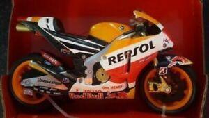 New Ray 1:12 Marc Marquez MOTO GP Repsol Honda RC213V Toy Model Road Bike