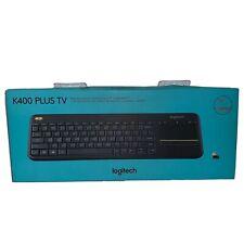 Logitech Wireless Touch Keyboard K400 Plus - Wireless Connectivity - Usb
