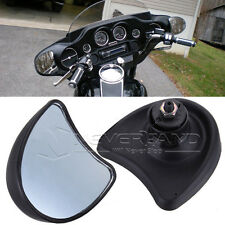 10mm Wide Angle Inner Fairing Mount Rear View Mirrors For Harley Street Glide