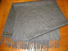 Loro Piana, Men's (Unisex) 100% Cashmere Scarf, Dark Gray, Made in Italy