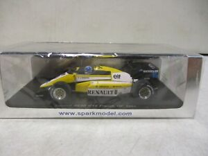 Spark Renault RE50 French GP 1984 Warwick 1/43