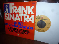 Frank Sinatra, I Believe I'M Gonna Love You, France Reprise 14400 Single, 7""