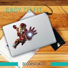 Ironman Volando MacBook Adhesivos/Pegatina de vinilo de calidad superior | Macbook Calcomanía Stark