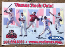 """2012 Vamos NEW BRITAIN ROCKCATS 12x18"""" Poster TWINS Rock Cats Autographed Signed"""