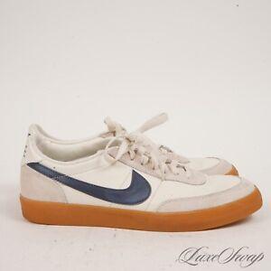 WEEKEND ESSENTIAL Nike 432997-107 Killshot 2 Ivory Midnight Navy Sneakers 8.5 NR
