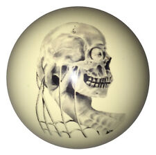 Pool/Billiards Custom Cue Ball Skull in Hand NEW!