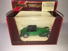 matchbox models of yesteryear Y17 Hispano Suiza in original box