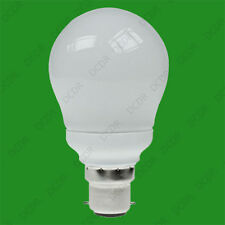 15w BC B22 Micro A60 GLS CFL Light Bulb Extra Long Life Lamps 2700k Warm White