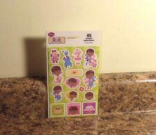 Disney Doc McStuffins Sticker Set 3 Sheets NEW