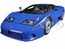 BUGATTI EB110 GT BLUE 1/18 DIECAST CAR MODEL BY AUTOART 70976