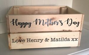 Personalised 'Happy Mother's Day' Vinyl Decal Sticker Bundle - Stickers Only