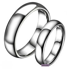 TITANIUM Surgical Steel Polish Comfort Fit Wedding Band Ring Size 6-12 RM14