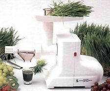 Miracle MJ550 Wheatgrass Juicer ~200 Watts Power ~New ~ White