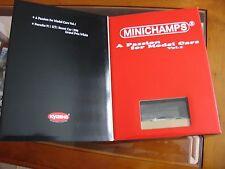 Exclusive Pour Kyosho, MINICHAMPS 911 GT1 Street, 1996 & Livre