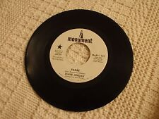 TEEN DIANE JORDAN  PADRE/YOUR LOVE WILL STAY  MONUMENT 1151 PROMO