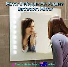 Mirror Defogger / Demister Anti-Fog For Fogless Bathroom Mirror 300 x 400 mm New