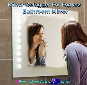 Mirror Defogger / Demister Anti-Fog For Fogless Bathroom Mirror 300 x 400 mm New