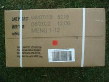 US MRE Karton A, Insp.Date 08/22, EPA Verpflegung, Army Notration, Ready to eat