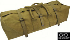 Combat Military Army Rope Handle Canvas Tool Equipment Kit Bag Surplus Green New