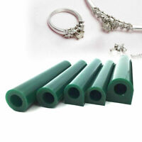 Green Carving Wax Flat Top Tube Ring Jewelry Lost Wax Casting Injection Tool Kit