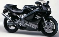 SUZUKI RGV250 VJ21 MODEL BLACK VERSION ONLY FULL PAINTWORK DECAL KIT