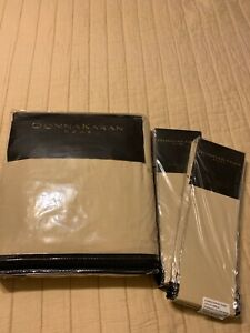 Donna Karan Ultra Fine Collection King Duvet Cover+Two Euro Shams!Brand New!