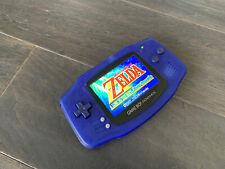 New listing Nintendo Gameboy Advance Gba Backlight Funnyplaying Ips Screen - Mod Night Blue