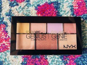 NYX Strobe Of Genius Illuminating Palette 01 Highlighters