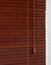 Sunflex 25mm a doghe vero legno veneziana 90cm di larghezza x 160cm acacia finitura MACCHIA