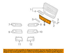 AUDI OEM A6 Quattro Front Bumper Grille Grill-License Plate Mount 4F0807287C1QP