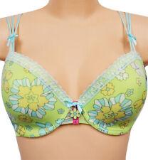 NEW / FEMILET daisy  padded underwired bra 65F UK 30F