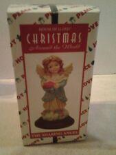 "House of Lloyd Christmas Around the World 1997 ""THE SHARING ANGEL"" figurine NIB"