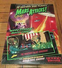 Mars Attacks 1996 Topps Widevision Box 36 Packs